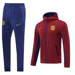 گرمکن هودی بارسلونا قرمز 2021