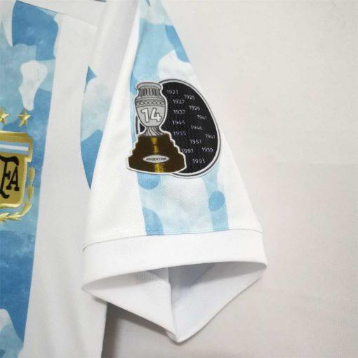 لباس اول آرژانتین فینال کوپا آمریکا 2021
