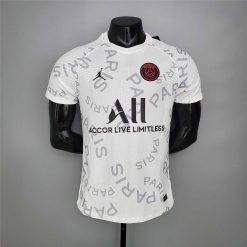 لباس تمرینی پاریسن ژرمن سفید 2021 ورژن بازیکن