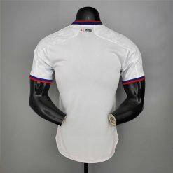 لباس سفید دی سی یونایتد 2021 ورژن بازیکن