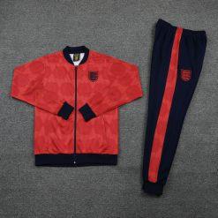 خرید گرمکن شلوار کلاسیک انگلیس 1990 قرمز